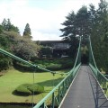 中山CC吊り橋からハウス№3